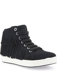 Geox Girls Aveup High Top Sneaker