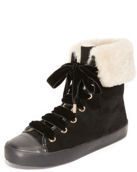 Alice + Olivia Ryan Shearling Sneakers