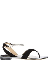 Paul Andrew Amiga Thong Sandals Black
