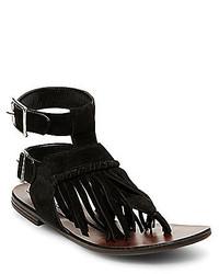 Steve Madden Lexxee Fringe Sandals