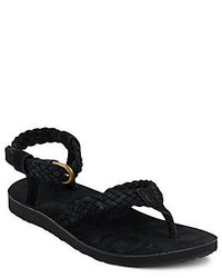 Teva Braided Suede Thong Sandals