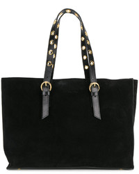 Classic tote with gold tone hardware medium 5275678