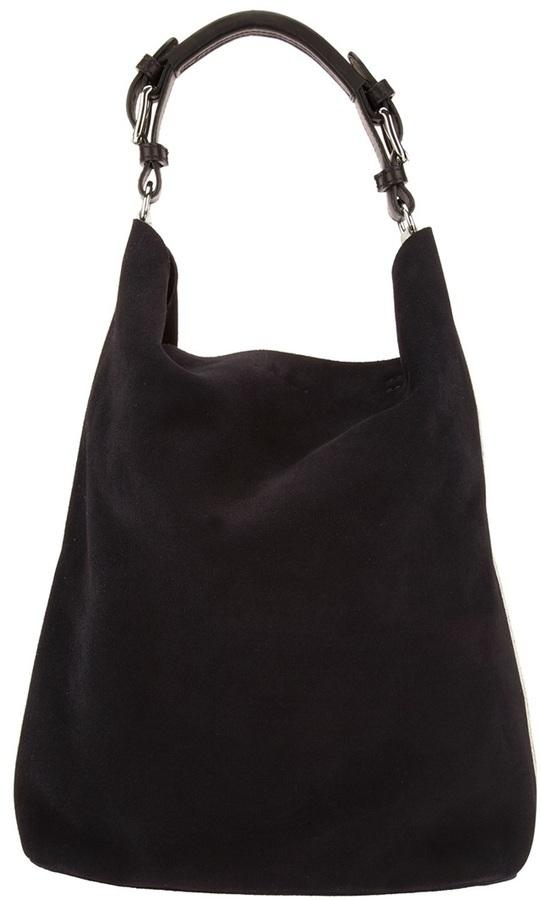 Marni Edition Bicolour Suede Shoulder Bag