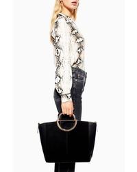 Topshop Emmi Smart Shopper Handbag