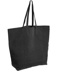 Joe Fresh Faux Suede Tote Black