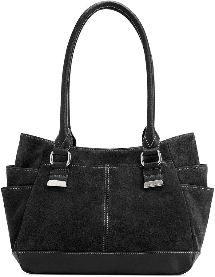 Tignanello Handbag Suede Shopper | Where to buy & how to wear