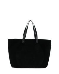 Balmain Velvet Shopper Bag