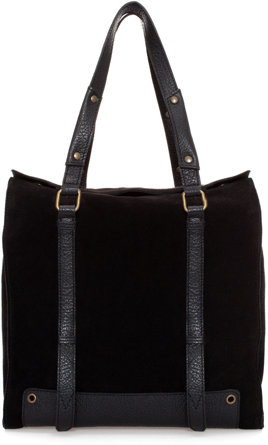 Suede Zara Combined Shopper89 And 0wk8opnx Leather byY6vgf7