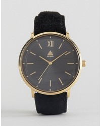 Asos Watch With Suede Strap