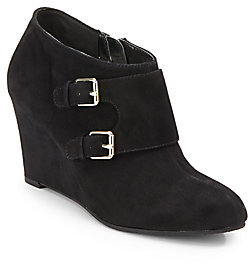 professional sale hot product professional sale Tylor Suede Wedge Ankle Boots