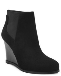 Tahari Cora Suede Wedge Ankle Boots