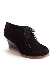 Lauren Ralph Lauren Denver Suede Wedge Ankle Boots