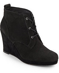 Dolce Vita Patrix Suede Wedge Ankle Boots