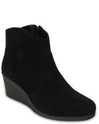 Crocs Leigh Wedge Ankle Boots