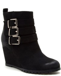 Qupid Tustin Wedge Ankle Boots