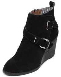 Lucky Brand Yerik Wedge Ankle Booties