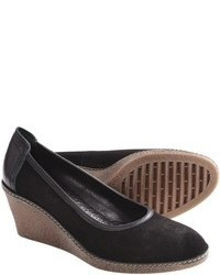 The Flexx Bread N Butter Wedge Pumps Suede