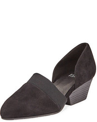 Eileen Fisher Hilly Demi Wedge Suede Pump