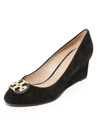 ea02778c5ece49 Tory Burch Luna Suede Wedge Pumps Out of stock · Tory Burch Luna Wedge Pumps