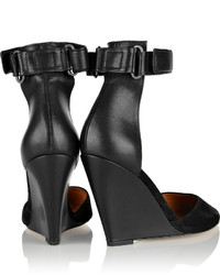 Isabel Marant Patty Suede Wedge Pumps