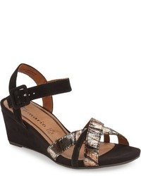 Tamaris Inex Quarter Strap Wedge Sandal