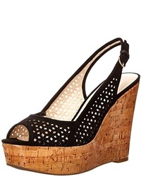 Nine West Axey Suede Wedge Sandal