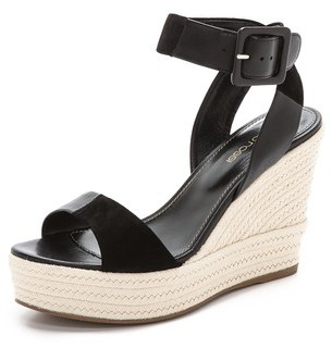 Wedge sandals Sergio Rossi Outlet Authentic e7MKni