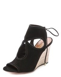Aquazzura Sexy Thing Wedge Sandals