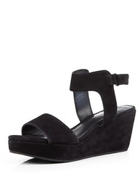Delman Suede Sandals Vada Wedge