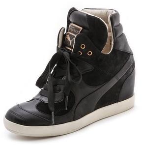 9c15265d42acbc ... Suede Wedge Sneakers Puma Alexander Mcqueen Ofeya Hidden Wedge Sneakers  ...