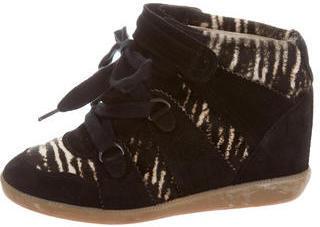 Isabel Marant Bobby Ponyhair Sneakers