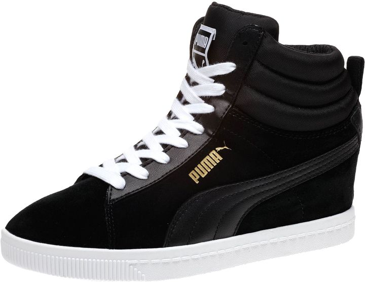 67a09ab4f3074e ... Suede Wedge Sneakers Puma Classic Wedge Sneakers ...