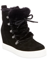 Steve Madden Lift Lace Up Wedge Sneakers