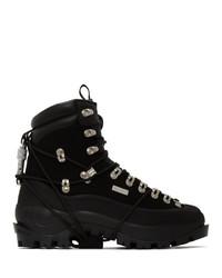 Heliot Emil Black Hiking Boots