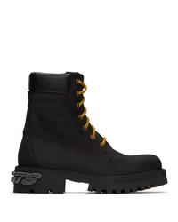 Vetements Black New Trucker Boots