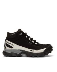 Salomon Black Shelter Cswp Adv Boots