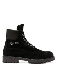 Philipp Plein Suede Ankle Boots