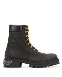 Vetements Suede Lace Up Boots