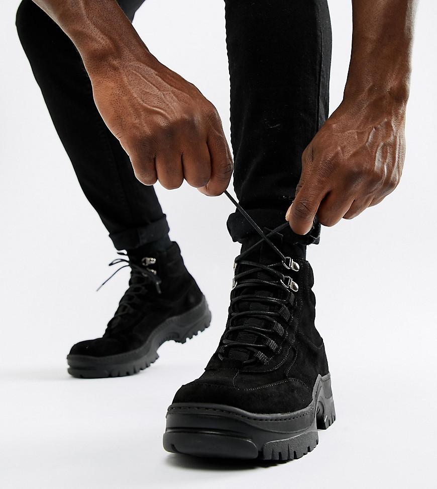 ASOS DESIGN Trainer Boot In Black