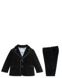 Gucci Babys Two Piece Suit Jacket Pants Set