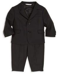 Dolce & Gabbana Babys Virgin Wool Two Button Suit