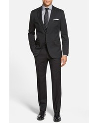 Johnstonslenon classic fit wool suit medium 326994