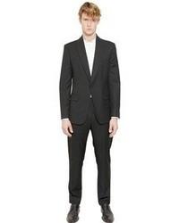 Maison Martin Margiela Wool Gabardine One Button Suit