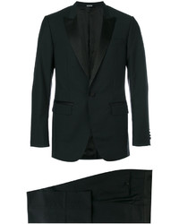 Lanvin Silk Lapel Two Piece Suit