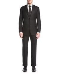 Giorgio Armani Soft Basic Two Piece Suit Black