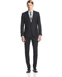 Ben Sherman Two Button Tonal Stripe Suit