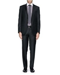 Canali Two Button Wool Suit