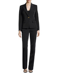 Two piece pantsuit black medium 404318