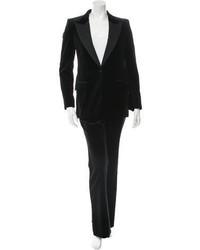 Gucci Velvet Tuxedo Pantsuit