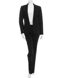 Givenchy Virgin Wool Two Piece Pantsuit